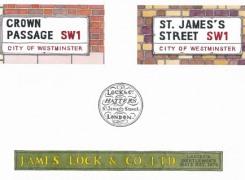 lock street signs